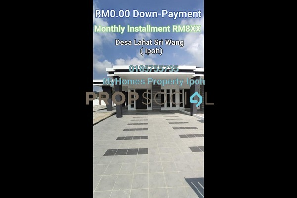 Terrace For Sale in Desa Lahat Sri Wang, Ipoh Leasehold Unfurnished 3R/2B 214k