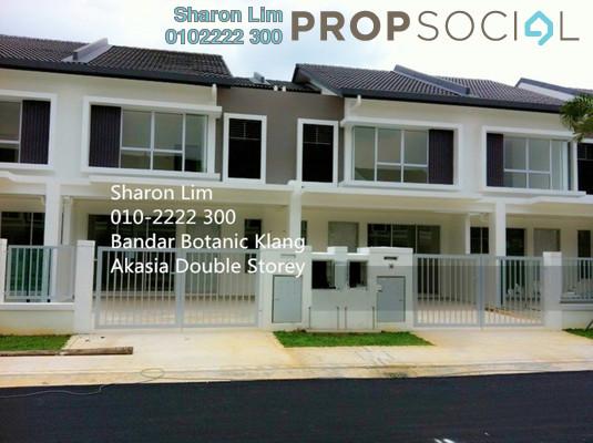 For Rent Terrace at Bandar Botanic, Klang Freehold Semi Furnished 4R/3B 1.5k
