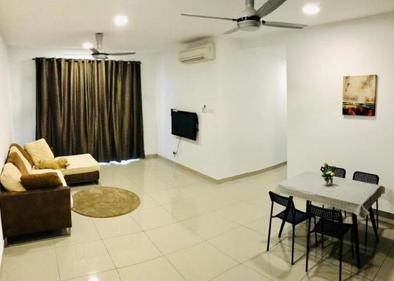 For Rent Condominium at Parkhill Residence, Bukit Jalil Freehold Fully Furnished 3R/2B 2.1k