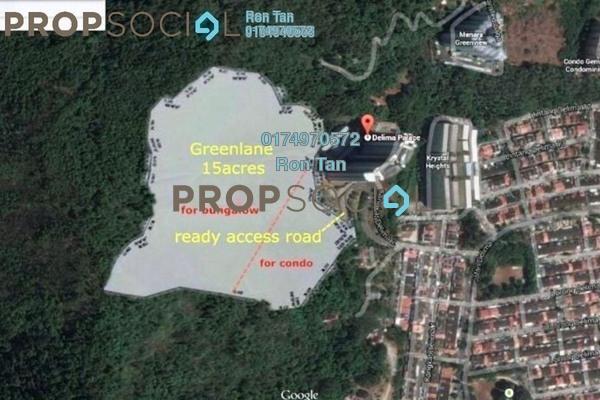 For Sale Land at Cangkat Delima, Green Lane Freehold Unfurnished 0R/0B 35.9m