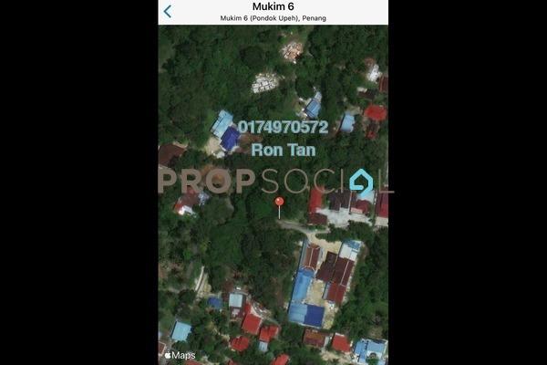 For Sale Land at Taman Pondok Upeh, Balik Pulau Freehold Unfurnished 0R/0B 5.5m