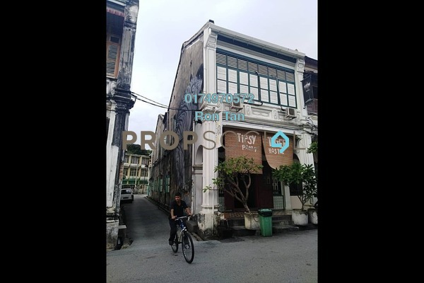 For Sale Shop at Lorong Stewart, Georgetown Freehold Semi Furnished 7R/7B 5m