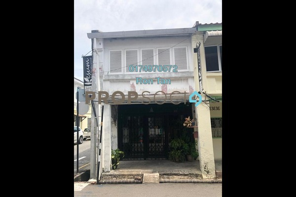 For Sale Shop at Lorong Stewart, Georgetown Freehold Semi Furnished 2R/2B 2m
