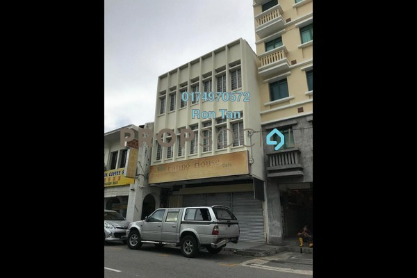 For Sale Shop at Lebuh Chulia, Georgetown Freehold Semi Furnished 7R/4B 5.5m