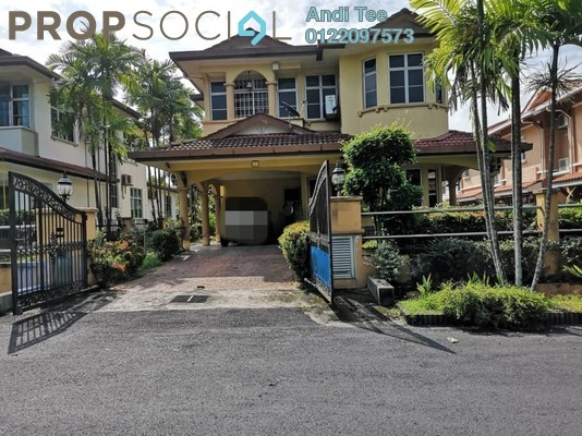 For Sale Bungalow at Saujana Akasia, Sungai Buloh Freehold Semi Furnished 5R/4B 1.6m