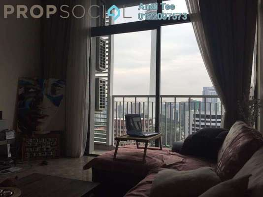 For Rent Condominium at Laman Ceylon, Bukit Ceylon Freehold Semi Furnished 3R/3B 4k