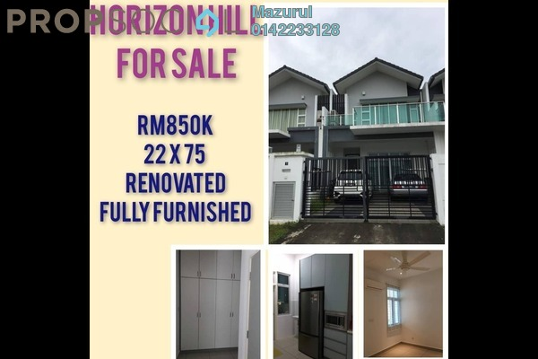 For Sale Terrace at The Hills, Horizon Hills Freehold Fully Furnished 4R/3B 850k