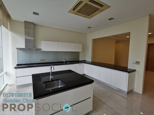 For Rent Condominium at The Oval, KLCC Freehold Semi Furnished 4R/5B 10.5k