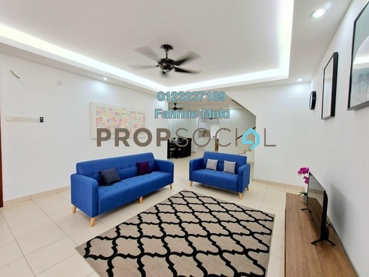 For Sale Terrace at Oleander, Bandar Seri Coalfields Freehold Semi Furnished 5R/4B 600k