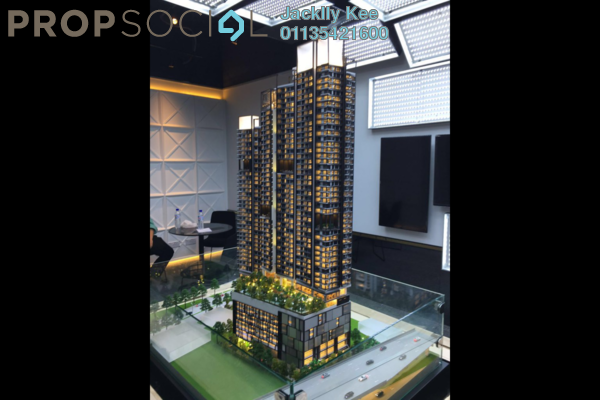 For Sale Condominium at Continew, Pudu Freehold Semi Furnished 1R/2B 670k