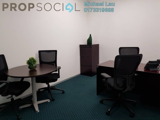 For Rent Office at Nu Towers, KL Sentral Freehold Fully Furnished 0R/0B 1.5k