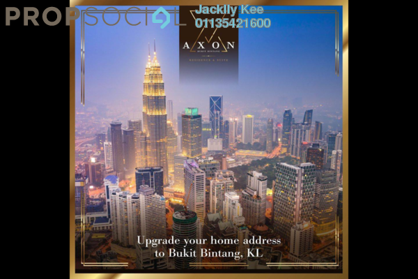 For Sale Condominium at Axon, Bukit Bintang Freehold Fully Furnished 1R/1B 668k