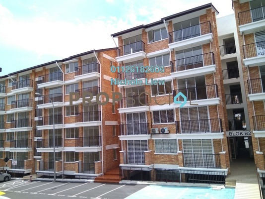 For Sale Apartment at Goodview Heights, Kajang Freehold Semi Furnished 3R/2B 288k