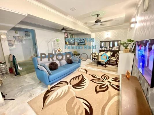 For Sale Terrace at Taman Kinrara, Bandar Kinrara Leasehold Semi Furnished 4R/3B 630k