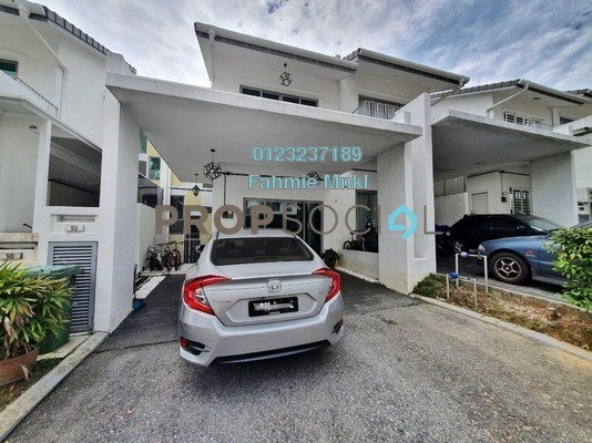 For Sale Terrace at Halamanda, Gombak Freehold Semi Furnished 5R/5B 1m