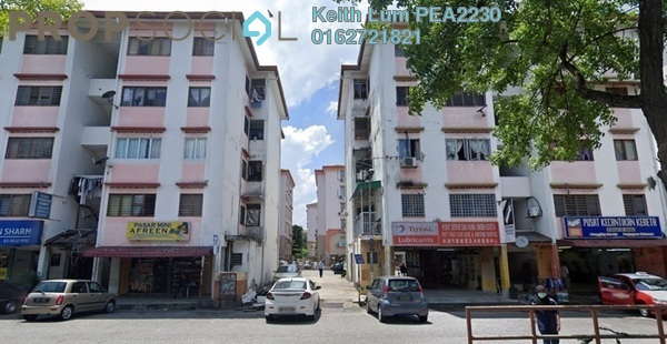 For Sale Apartment at Goodyear Court 8, UEP Subang Jaya Freehold Semi Furnished 2R/1B 170k
