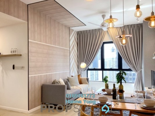 For Rent Serviced Residence at Novum, Bangsar South Freehold Fully Furnished 2R/2B 3.5k