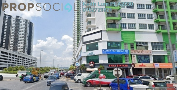 Shop For Sale in OUG Parklane, Old Klang Road Freehold Semi Furnished 3R/3B 1.6m