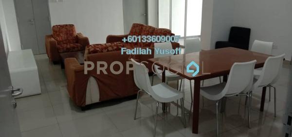 For Rent Apartment at Precinct 16, Putrajaya Freehold Fully Furnished 3R/2B 1.4k