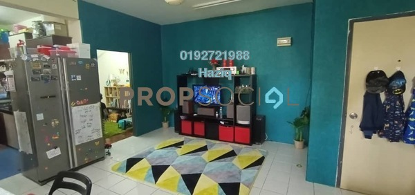 For Sale Apartment at Sri Baiduri Apartment, Ukay Freehold Semi Furnished 3R/2B 260k