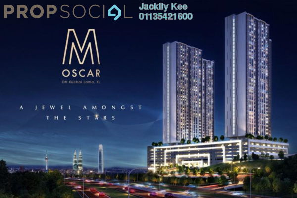 For Sale Condominium at M Oscar, Sri Petaling Freehold Semi Furnished 2R/2B 450k