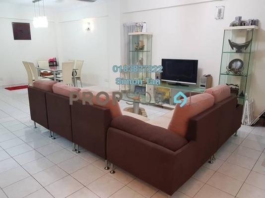 Condominium For Rent in Pelangi Damansara, Bandar Utama Freehold Fully Furnished 3R/2B 1.6k