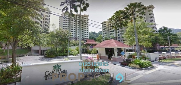 For Sale Condominium at Golf Vista Resort Homes, Ipoh Freehold Fully Furnished 2R/2B 330k