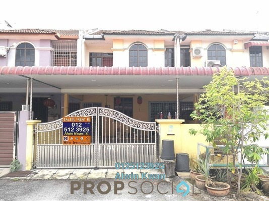 For Sale Terrace at Taman Tronoh Rasi, Teronoh Leasehold Unfurnished 4R/3B 230k