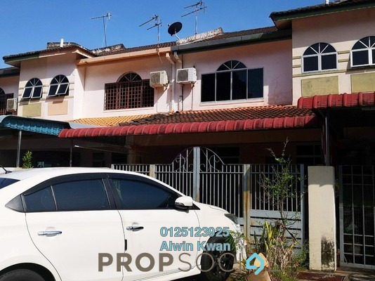 For Sale Terrace at Taman Panorama, Ipoh Leasehold Unfurnished 4R/3B 288k