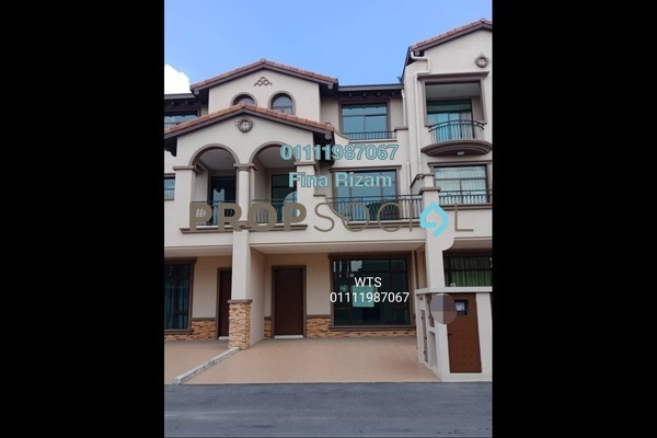 For Sale Terrace at Diamond City, Semenyih Freehold Unfurnished 4R/4B 700k