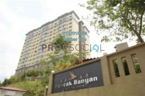 For Rent Condominium at Puncak Banyan, Cheras Freehold Fully Furnished 3R/2B 1.29k