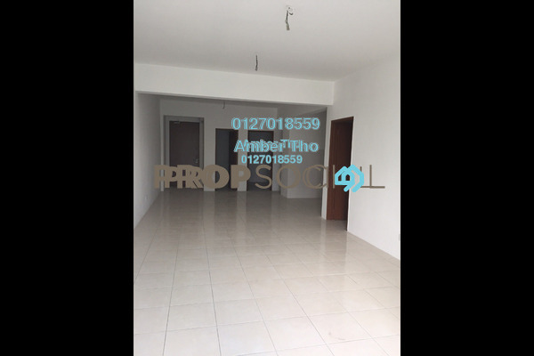 For Sale Apartment at Green Suria Apartment, Bandar Tun Hussein Onn Freehold Semi Furnished 3R/2B 326k