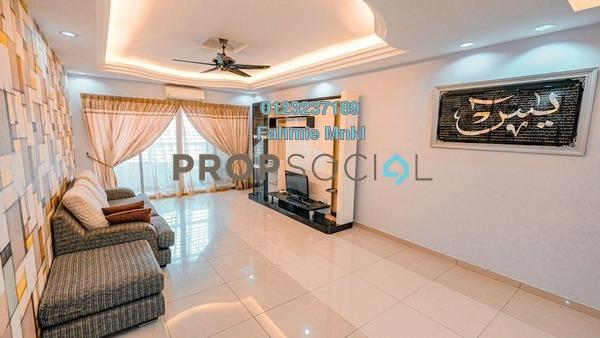 For Sale Condominium at Mutiara Anggerik, Shah Alam Leasehold Semi Furnished 3R/2B 430k