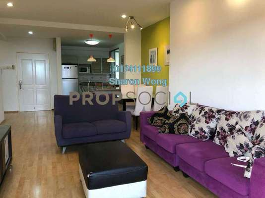 For Sale Apartment at Parkview Towers, Bukit Jambul Freehold Fully Furnished 3R/2B 430k