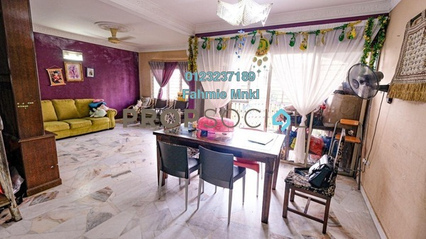 Condominium For Sale in Sri Ledang, Wangsa Maju Leasehold Semi Furnished 4R/2B 560k