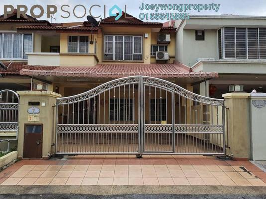 For Sale Terrace at Puteri 12, Bandar Puteri Puchong Freehold Semi Furnished 4R/3B 980k
