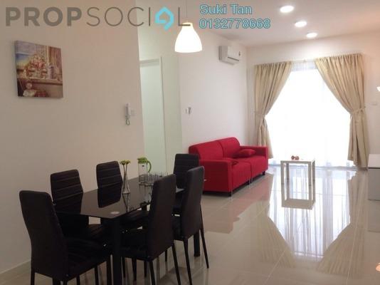Condominium For Sale in Scenaria, Segambut Freehold Semi Furnished 3R/2B 600k