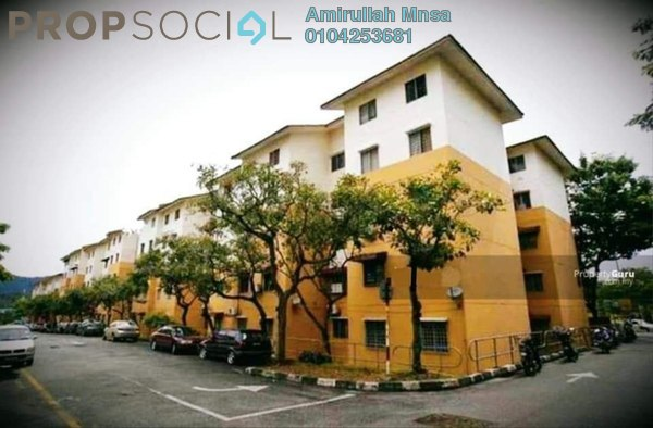 Apartment For Sale in Sri Meranti, Bandar Sri Damansara Freehold Unfurnished 3R/2B 165k