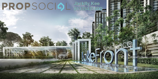 For Sale Condominium at LakeFront Homes, Cyberjaya Freehold Semi Furnished 3R/2B 405k