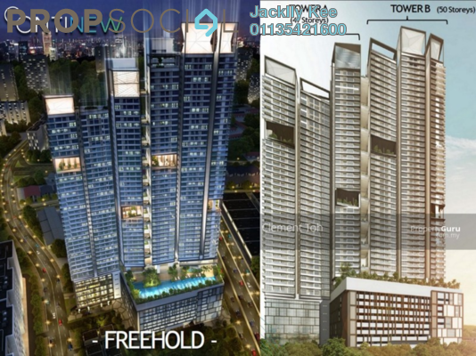 For Sale Duplex at Continew, Pudu Freehold Fully Furnished 2R/2B 550k