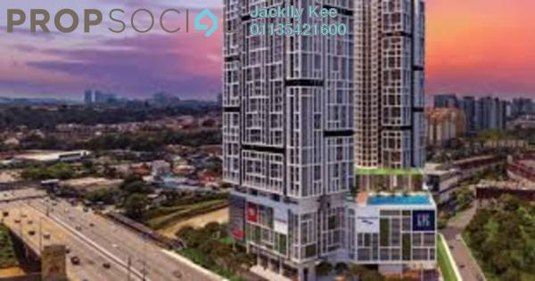 For Sale Serviced Residence at Platinum Arena, Old Klang Road Freehold Semi Furnished 3R/2B 480k