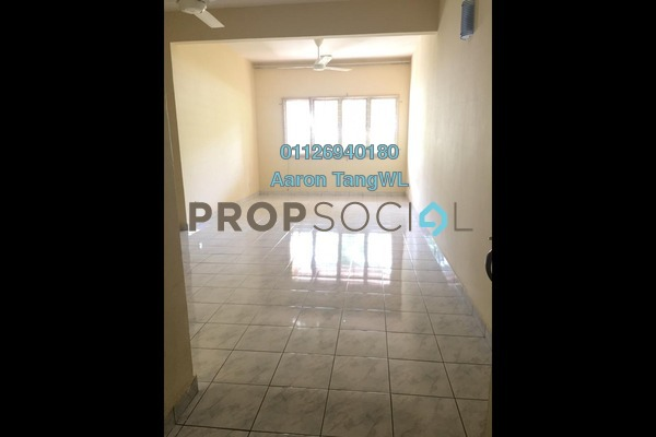 Apartment For Rent in Paradesa Tropika, Bandar Sri Damansara Freehold Semi Furnished 3R/2B 1.2k