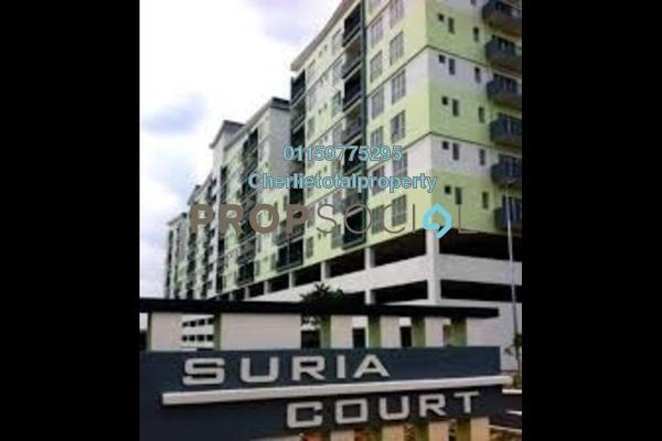 For Rent Condominium at Suria Court, Bandar Mahkota Cheras Freehold Semi Furnished 3R/2B 900translationmissing:en.pricing.unit