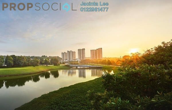 For Sale Serviced Residence at Jadite Suites, Kajang Freehold Semi Furnished 3R/2B 405k
