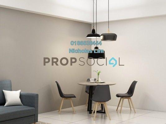 For Rent SoHo/Studio at Aurora Suites, Bukit Jalil Freehold Fully Furnished 1R/1B 1.2k