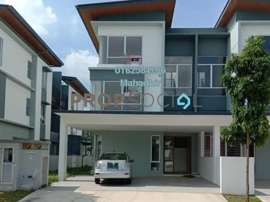 For Sale Semi-Detached at Parkfield Residences @ Tropicana Heights, Kajang Freehold Unfurnished 5R/5B 128k