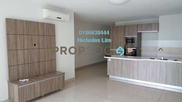 For Sale Serviced Residence at Pacific Place, Ara Damansara Freehold Semi Furnished 1R/1B 490k