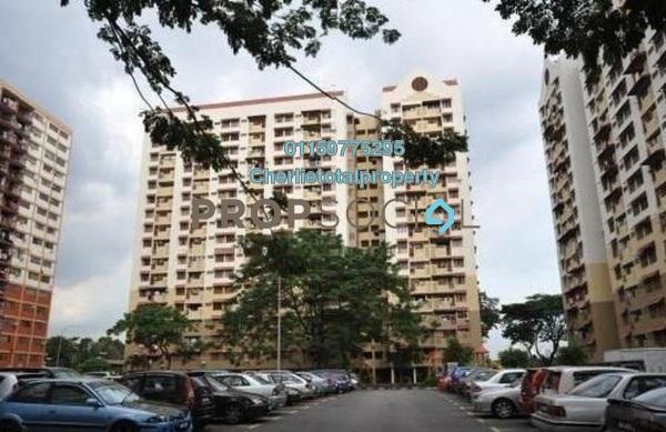 Apartment For Rent in Pangsapuri Sentul Utara, Sentul Freehold Semi Furnished 4R/2B 1.1k