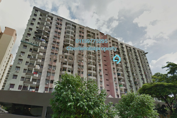 For Rent Condominium at Palm Court, Brickfields Freehold Fully Furnished 3R/2B 2.1k