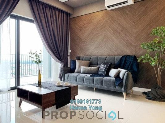 For Rent Condominium at The Westside Three, Desa ParkCity Freehold Fully Furnished 2R/2B 5k